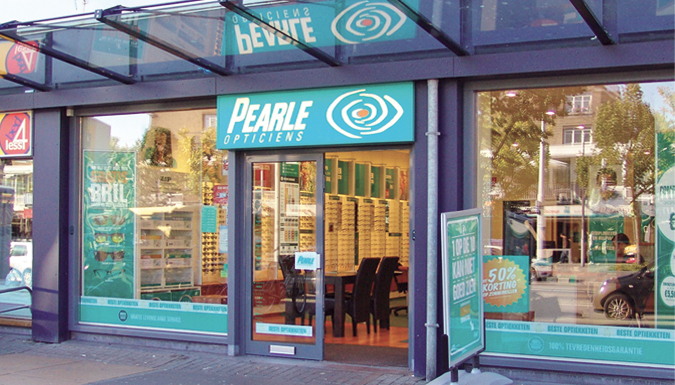 f7e52cd37fa878 Pearle Opticiens is een optiekwinkel met een heldere